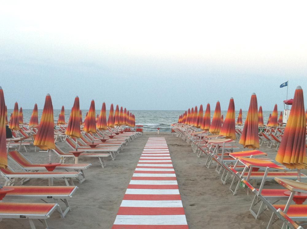 Bagno Zadina Spiaggia vicino Hotel Sayonara 3 stelle