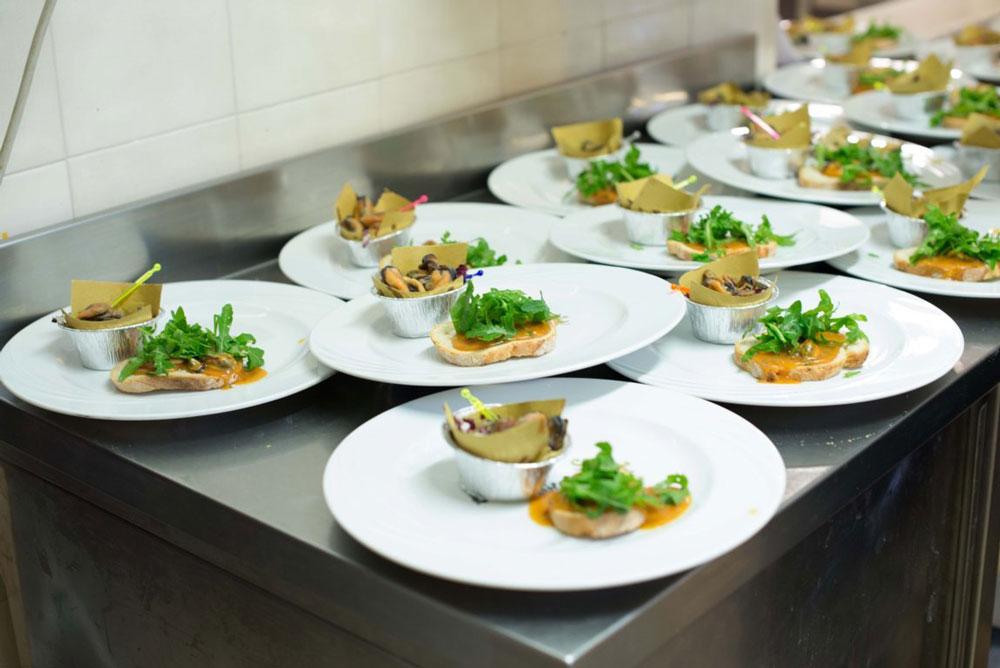 Dettaglio Piatti Cucina Ristorante Albergo sul mare a Zadina