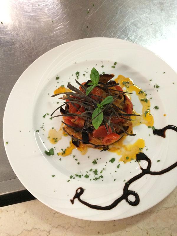 Dettaglio Piatto Cucina Hotel Sayonara Zadina di Cesenatico